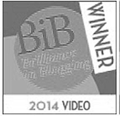 Brilliance in Blogging Award Winner 2014