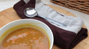Home-made Carrot Soup