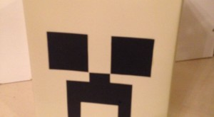 How to make a Creeper lightshade, Minecraft