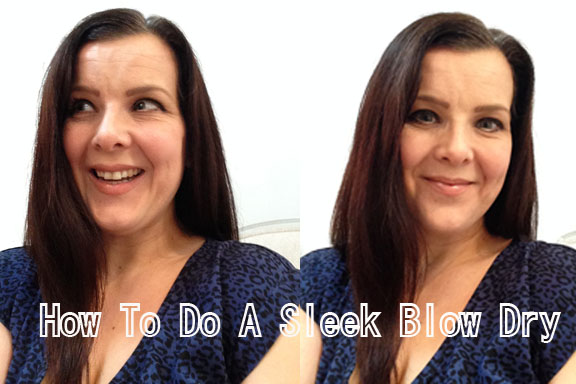 How to do a frizz eliminator blow dry