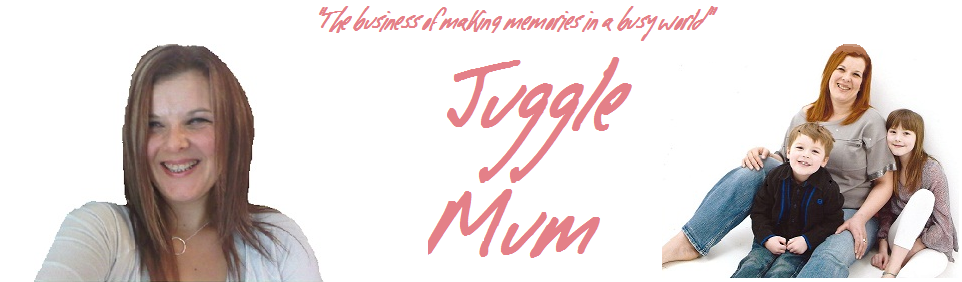 JuggleMum Blog Design in 2012