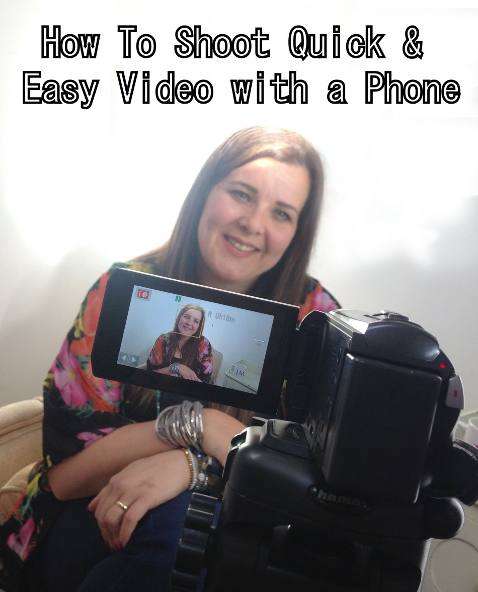 Shoot Quick & Easy Video Hero Shot