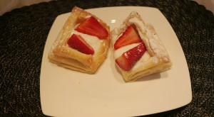 Slimming World berry puff tarts