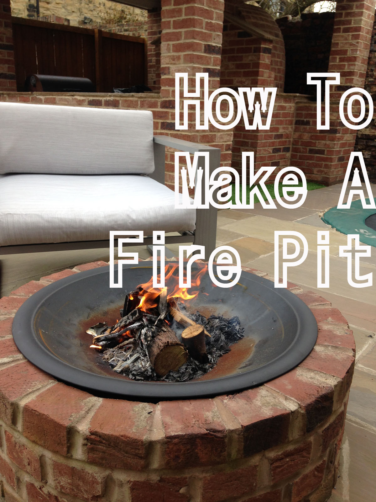 How to build a fire pit jugglemum for How to build a round fire pit