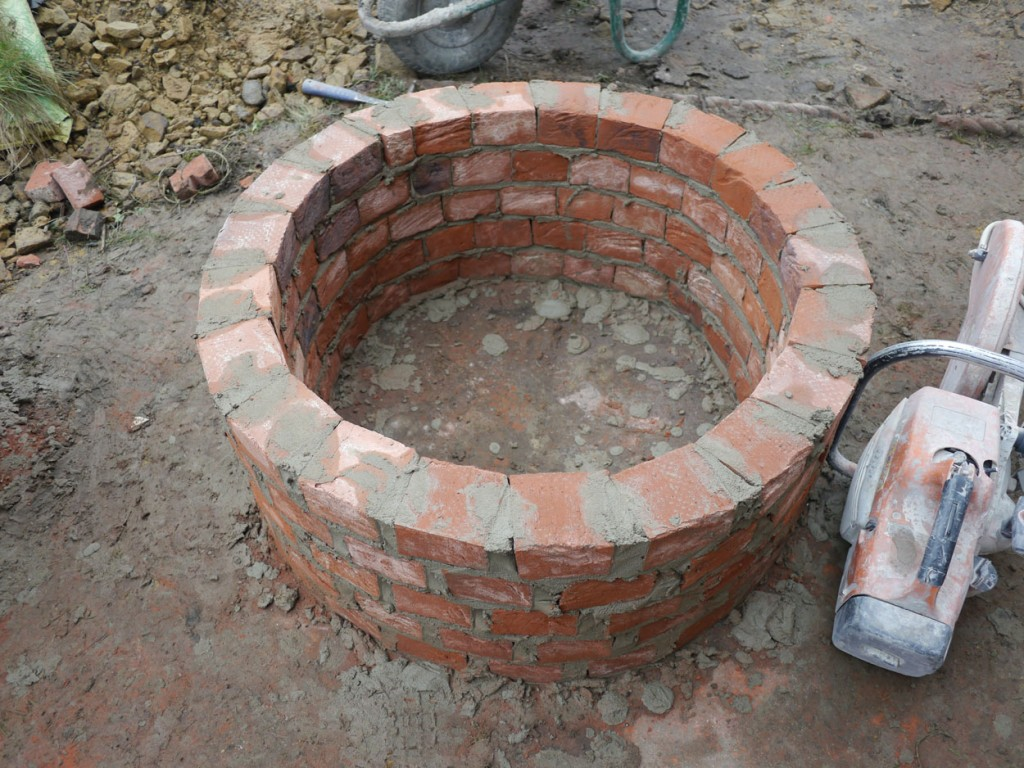fire pit outer shell