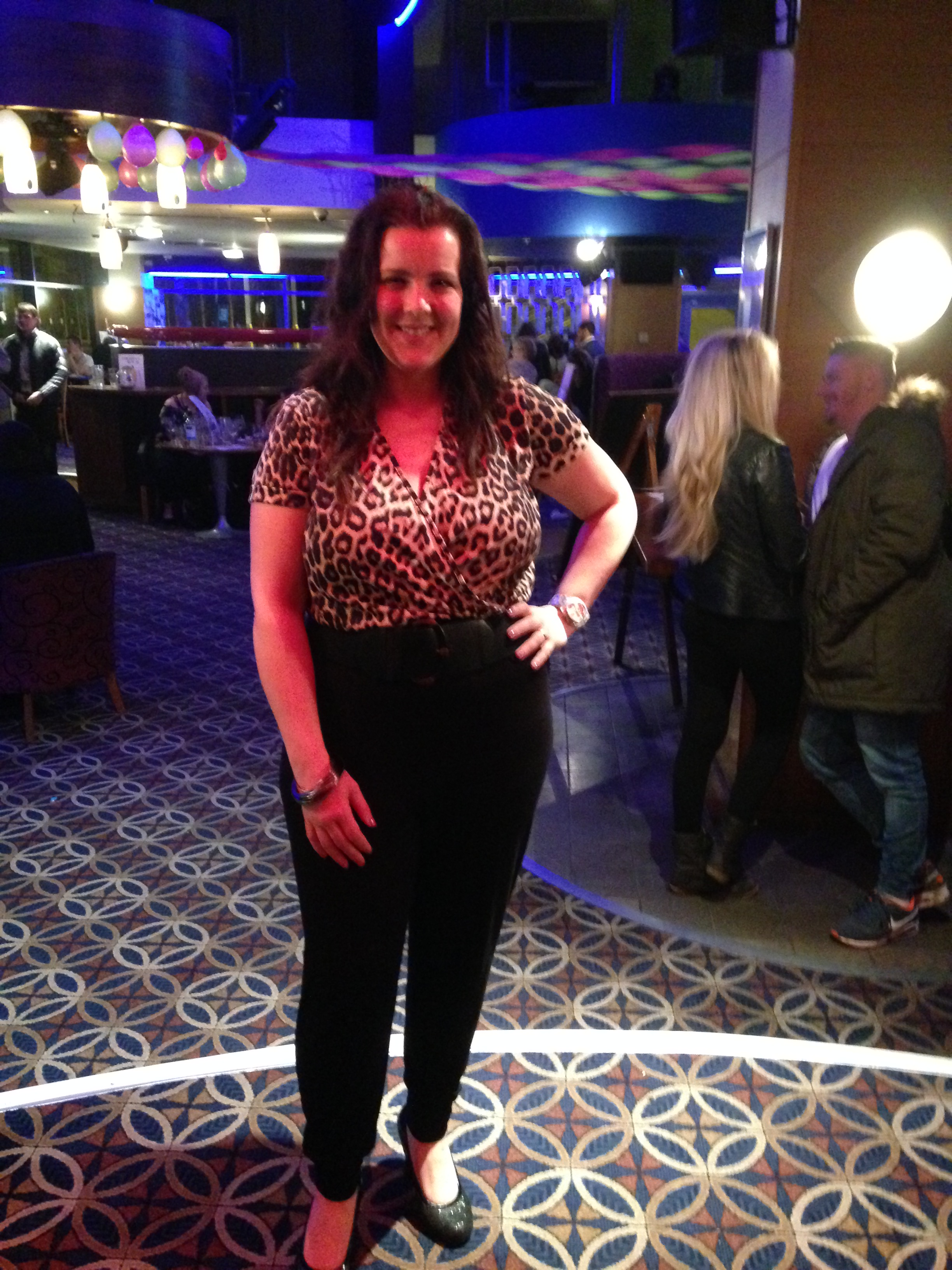 leopard print jumpsuit review