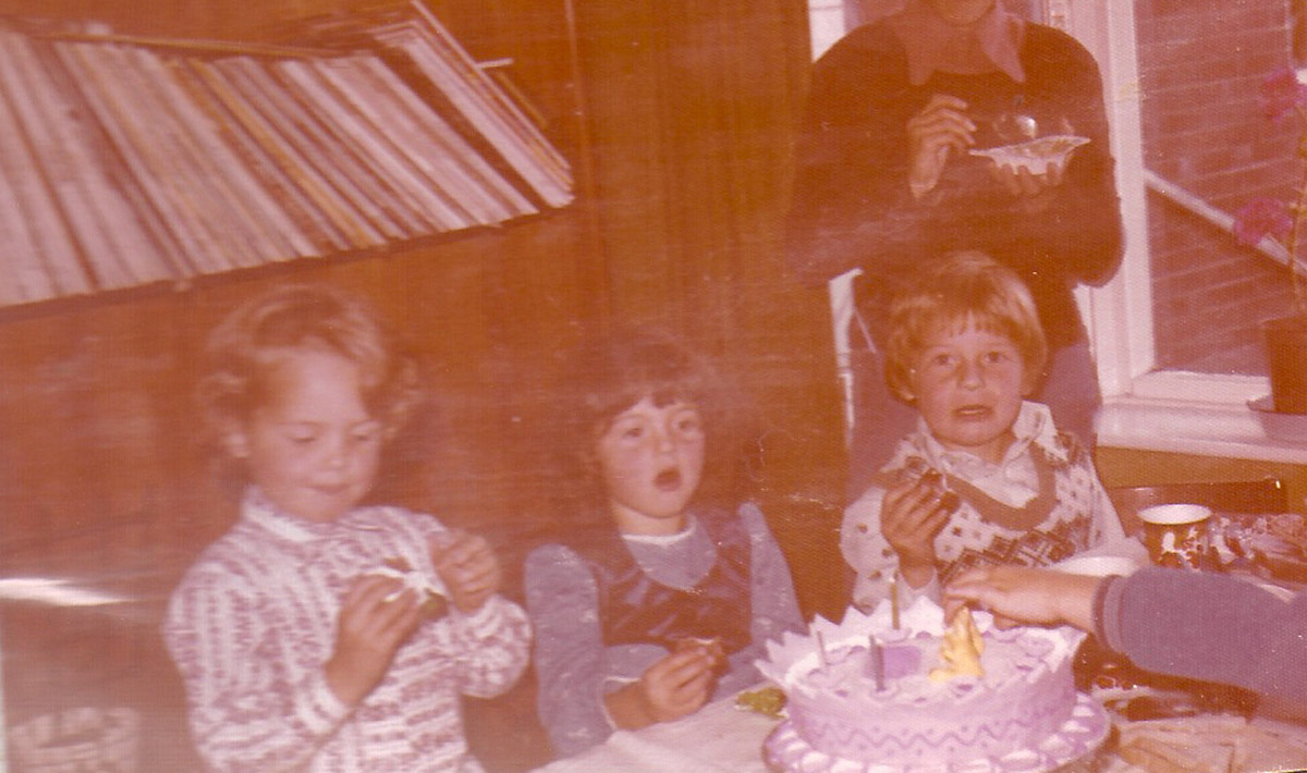 70s child's birthday party