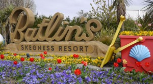 Butlins park entrance Skegness