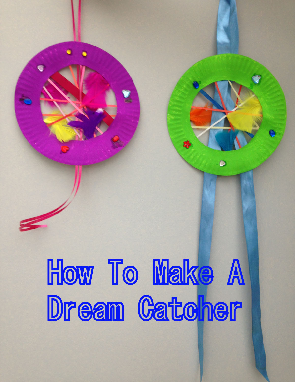 How to make a dream catcher jugglemum for Dream catchers how to make them