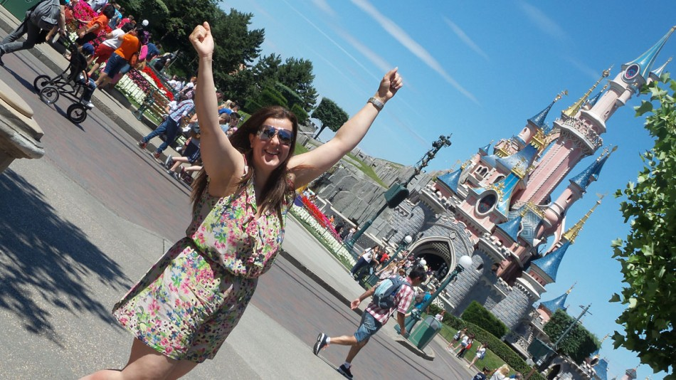 JuggleMum at Magic Kingdom