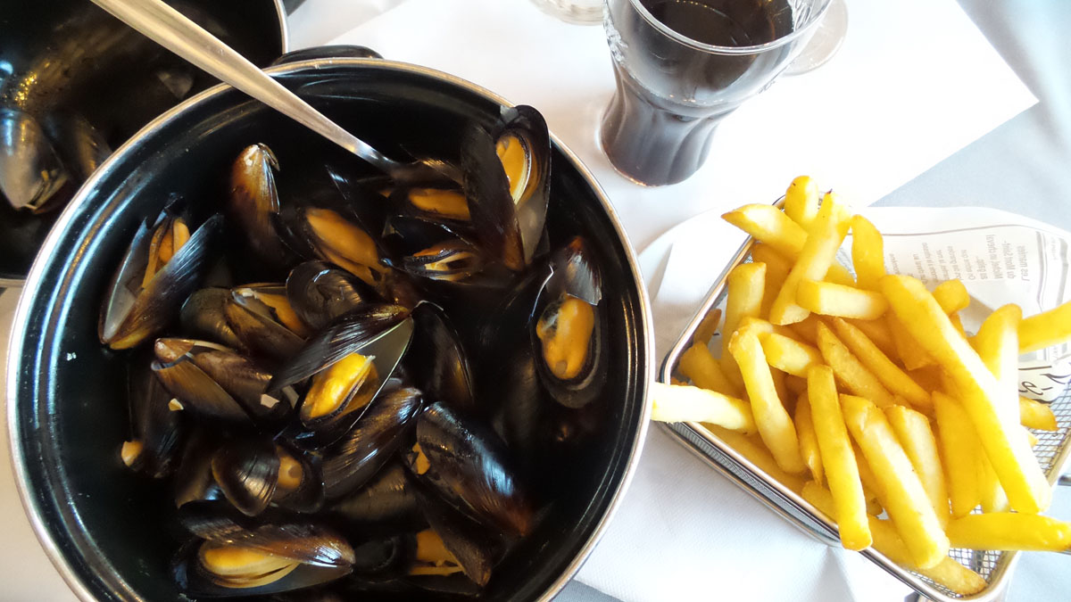 Moule Marinere & frites