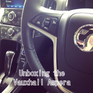 Unboxing the Vauxhall Ampera