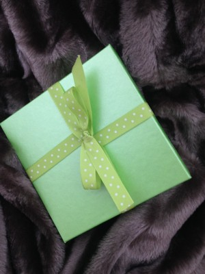 a little green gift