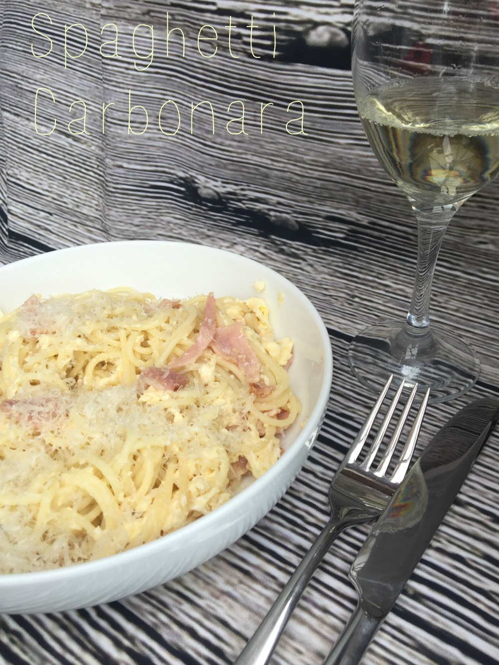Slimming World Spaghetti Carbonara | JuggleMum