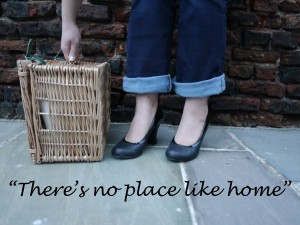 """Theres no place like home"" quote"