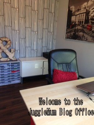 Welcome to the JuggleMum Blog Office