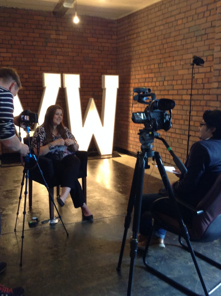 Nadine interviewed for Hiscox