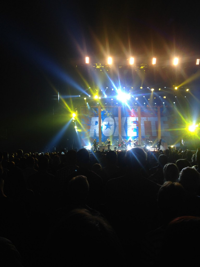 Roxette on stage