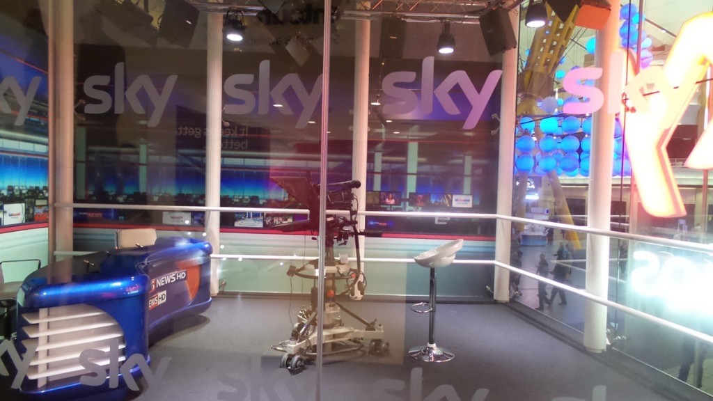 The Sky News Studio