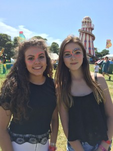 teens at Camp Bestival