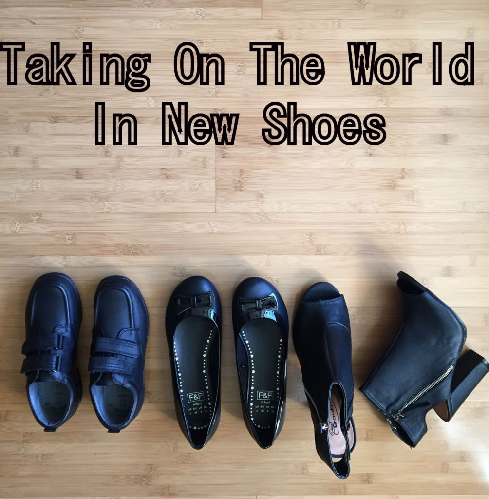 Taking on the world in new shoes