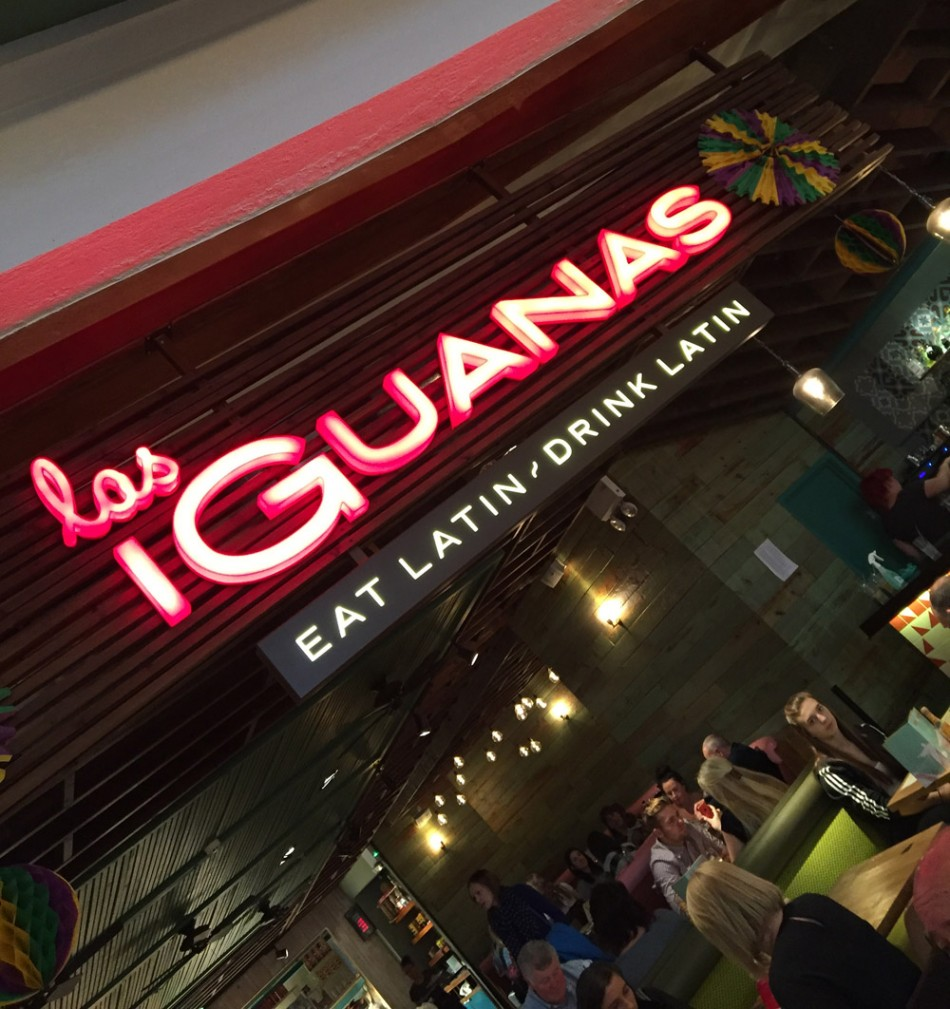 Las Iguanas close up