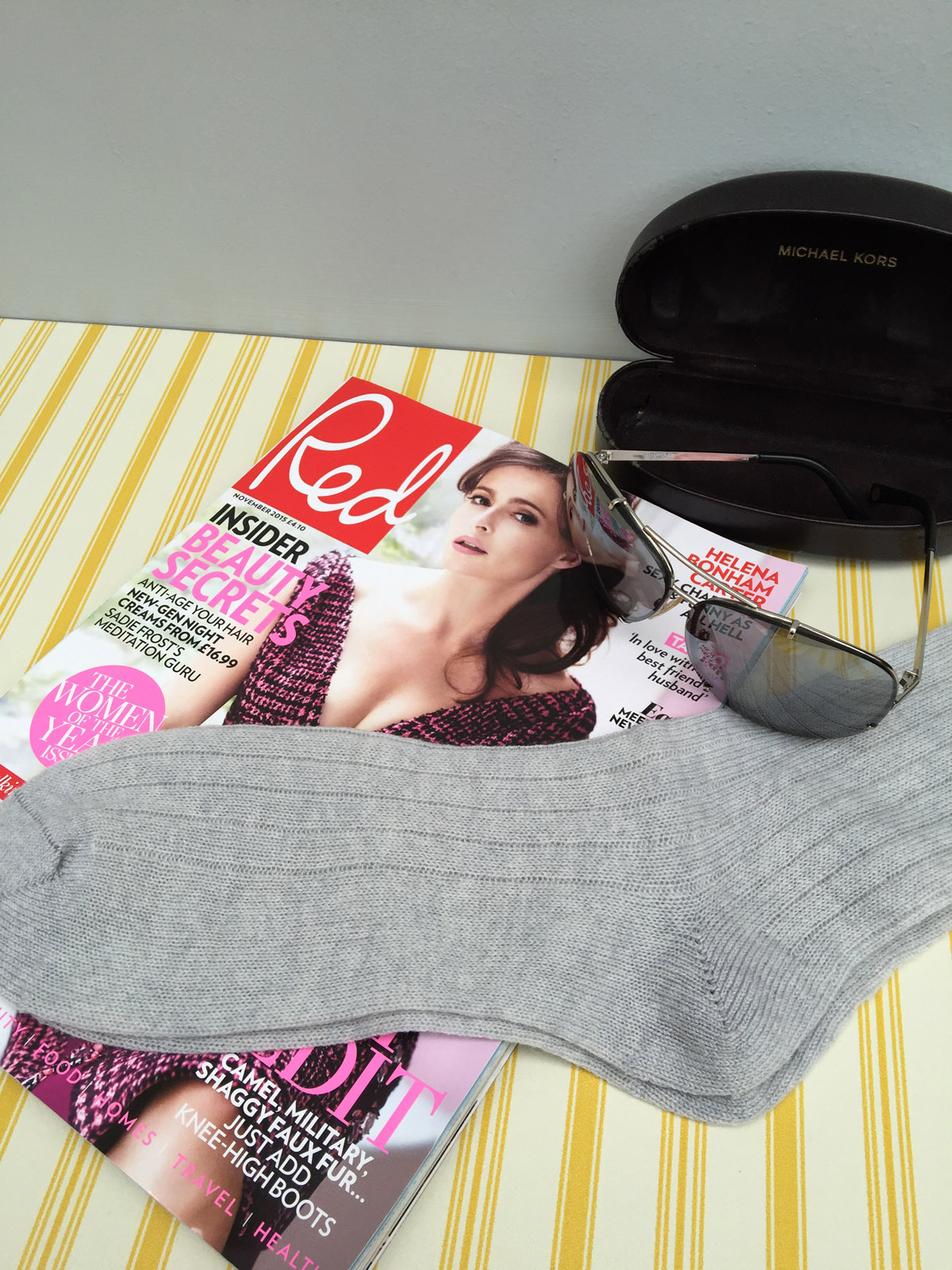 red mag socks