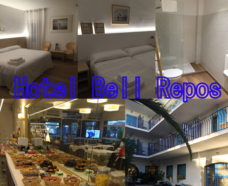 Hotel Bell Repos montage