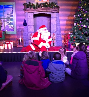 Santa show at Cadbury World