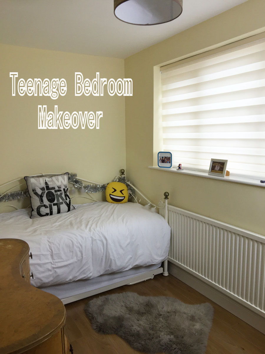 hero shot teenage bedroom