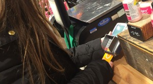 using the Osper card to pay