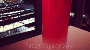 happy blogaversary JuggleMum