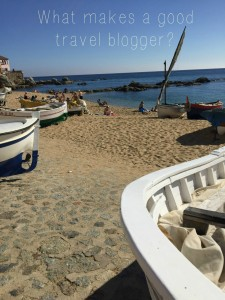 what makes a good travel blogger