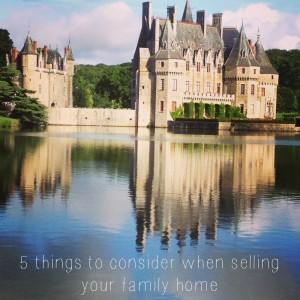 5 things consider selling family home hero shot