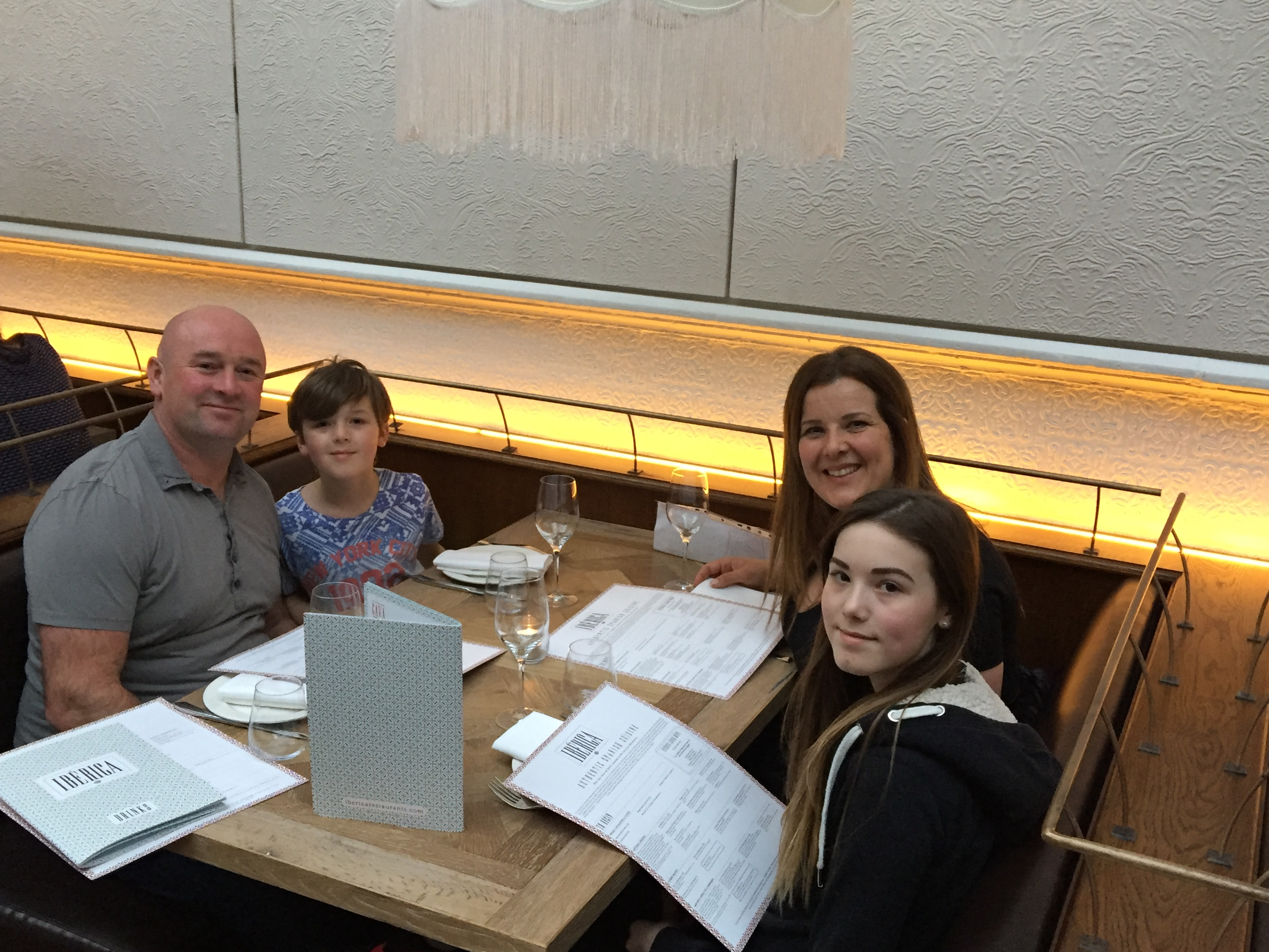 Hill family at Iberica