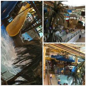 waterpark collage