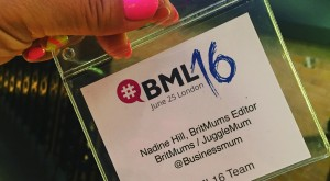 my name badge #BML16