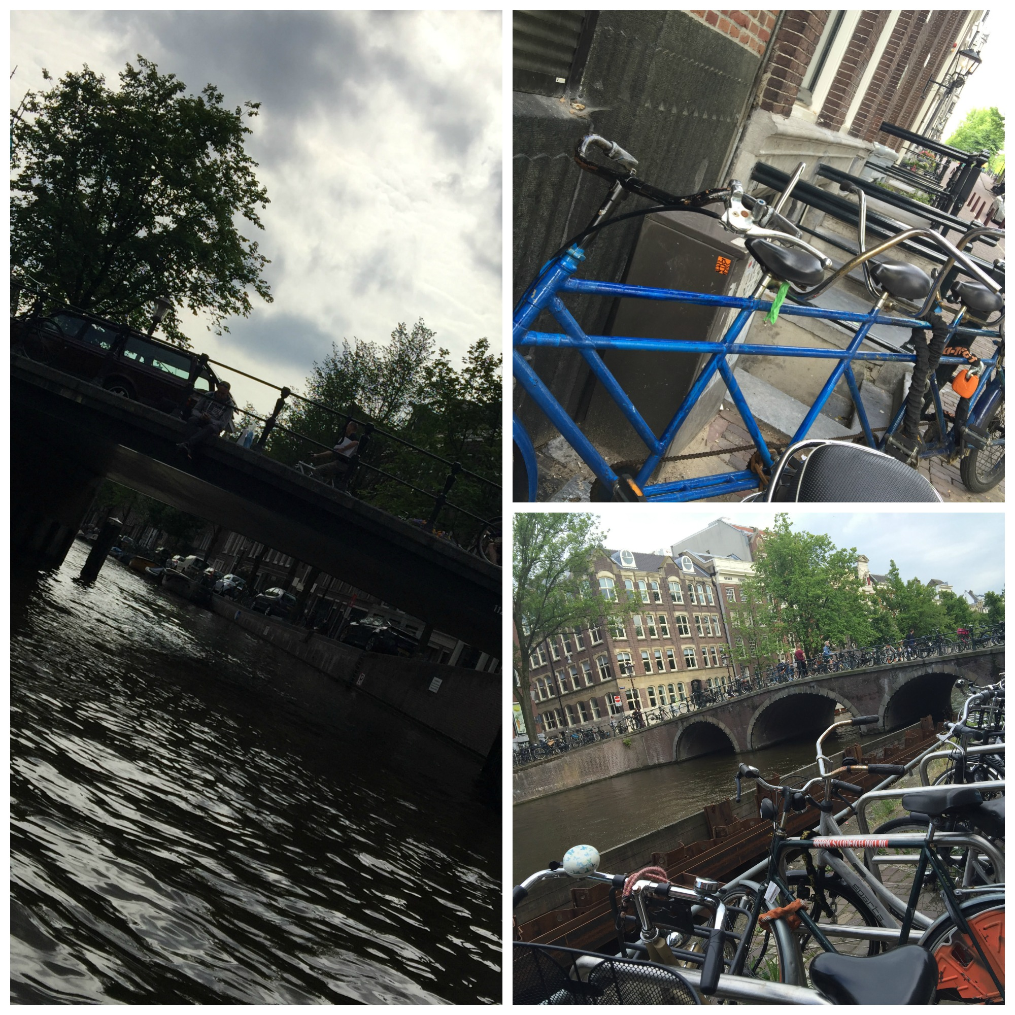 bikes & canals Collage