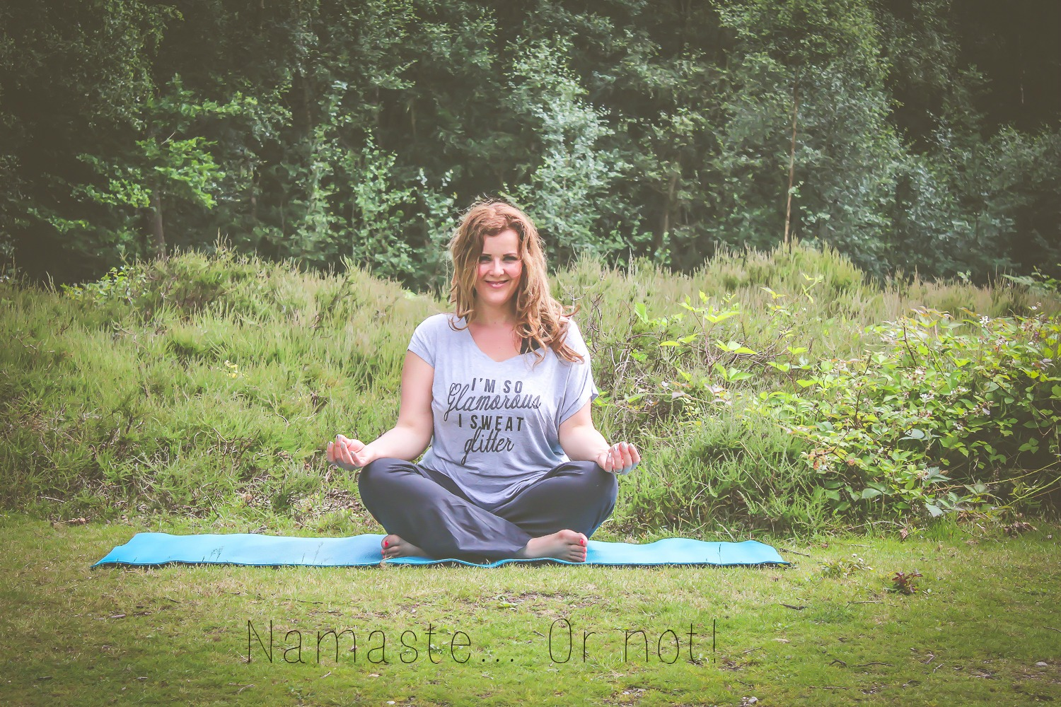 Namaste or not hero shot