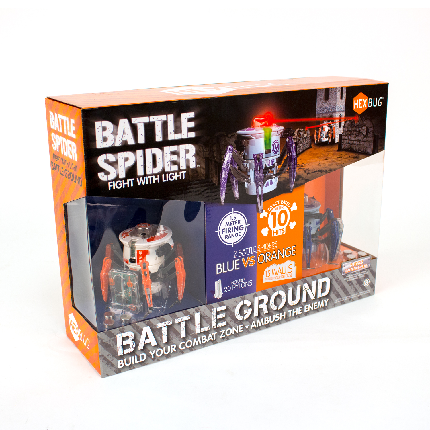 Battle Spider packaging