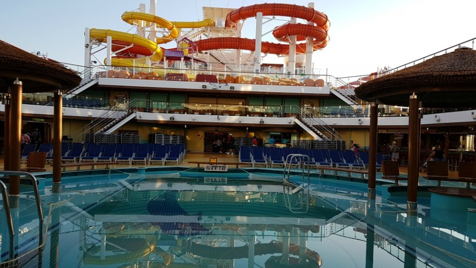 Waterworks on Carnival Vista