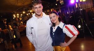 Scotty T and Lucy Dures as Snow White
