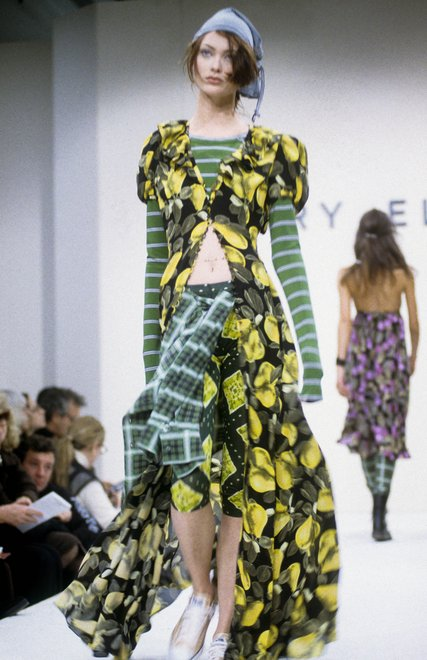 Perry Ellis Spring 1993 fashion show