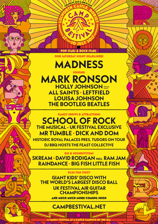 Camp Bestival lineup 2017
