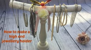 How to make a high end jewellery holder