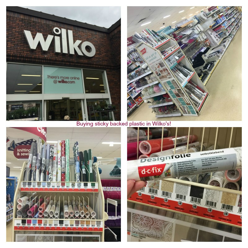 Wilko collage words