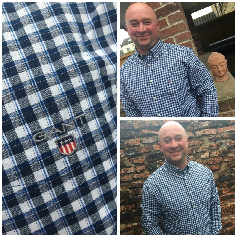 GANT shirt collage
