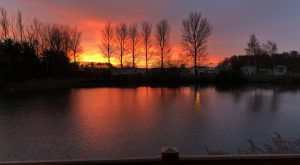 Tattershall Lakes Rudd Lake sunrise