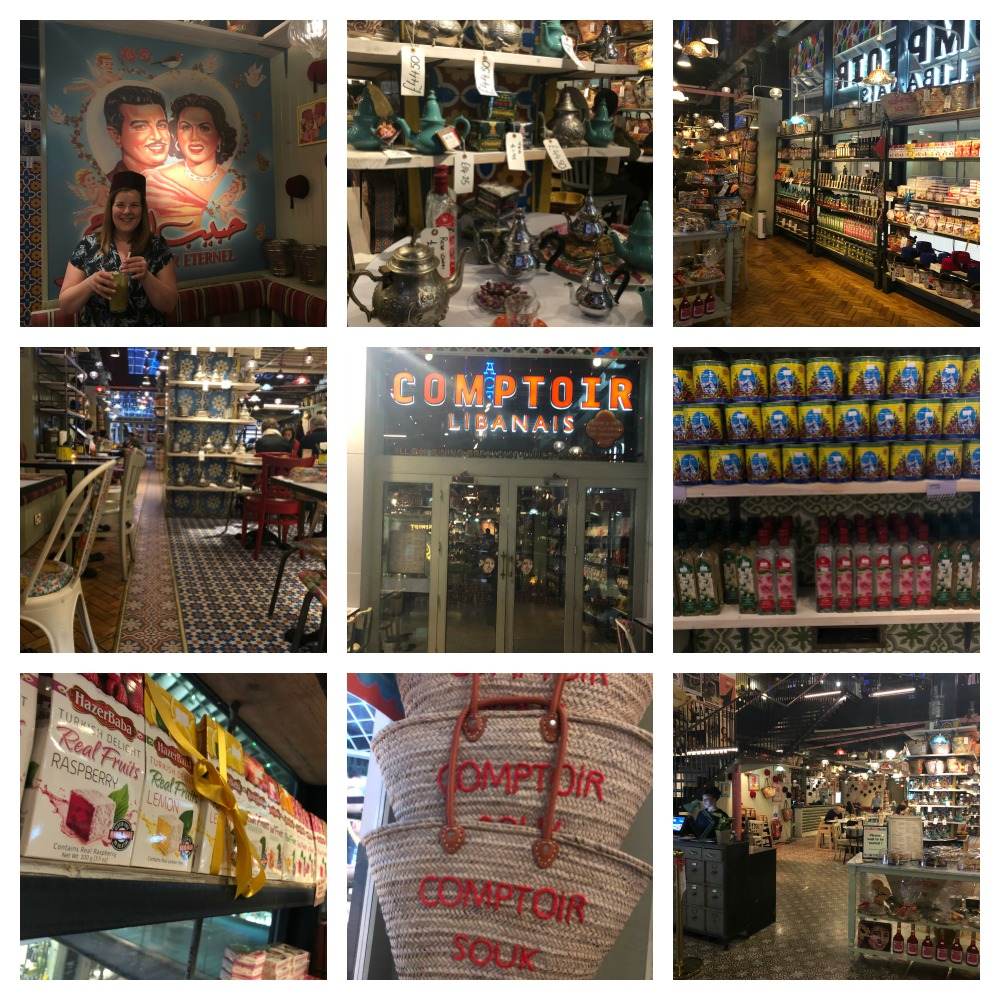Comptoir collage