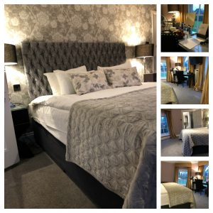 bedroom collage at Warbrook House